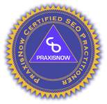 PraxisNow SEO Training Course Certification Icon